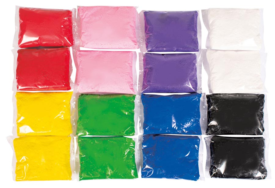Light clay 8 colours 120 gr