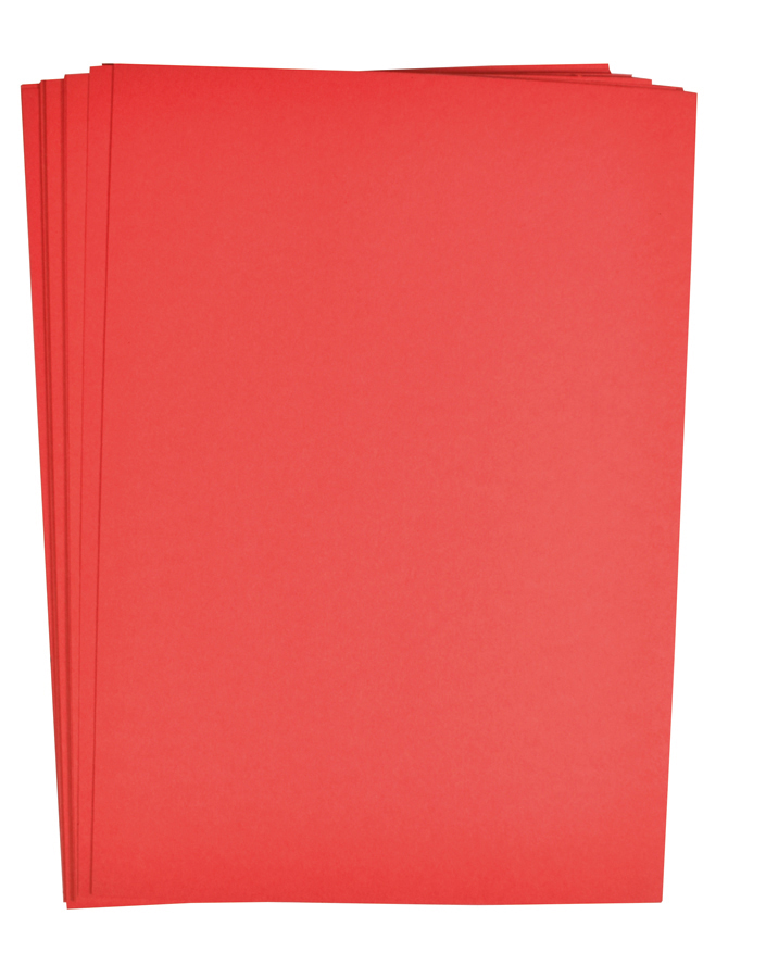 Paper red 25 pcs 180 g