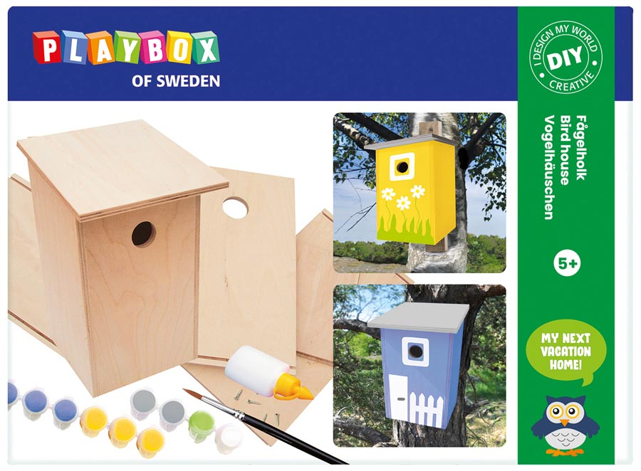 Craft set bird house