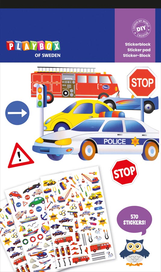 Stickers vehicles