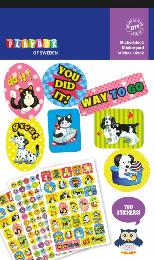Stickers cats & dogs